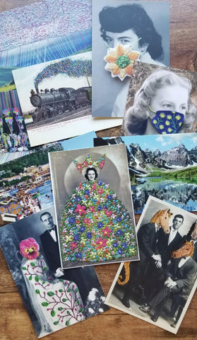 Art postcard pack - Sampler set