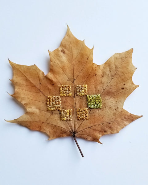 Stitched leaf series - Pt.5