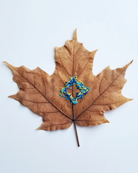 Stitched leaf series - Pt.3