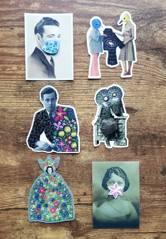 Holiday Bundle! Fun and funky sticker collection