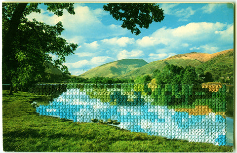 Reflections: Grasmere Lake""