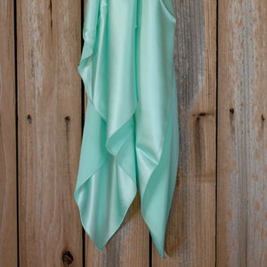 "44"" Pastel Green Charmeuse"
