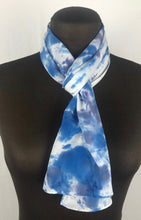 "Load image into Gallery viewer, 8""x52"" The Blues Long Scarf"