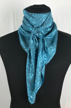 "Load image into Gallery viewer, 44"" Blue Turquoise Jacquard"