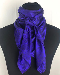 "44"" Electric Purple Jacquard"