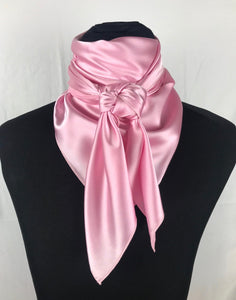"44"" Light Pink Stretch Charmeuse"