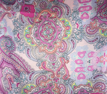 "Load image into Gallery viewer, 44"" Unicorn Pink Paisley"