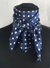 "Load image into Gallery viewer, 35"" Navy Dot"