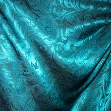 "Load image into Gallery viewer, 35"" Turquoise Jacquard"