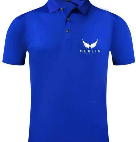 Merlin Golf 100% Polyester Polo Shirt