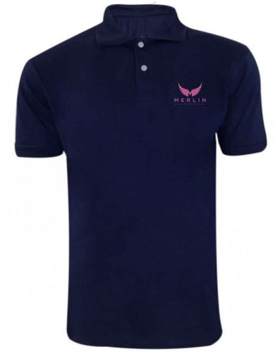 Merlin 'Pink Bird' Stand up to Cancer Polo Shirt
