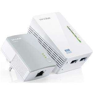 TP-Link TL-WPA4220KIT 300Mbps AV600 WiFi Powerline Extender Starter Kit