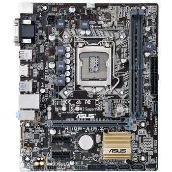 ASUS H110M-A/M.2 mATX LGA1151 DDR4 M.2 Motherboard - Upgraded
