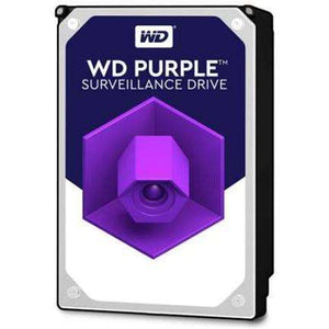 "Western Digital Purple SATA 3.5"" Intellipower 64MB 3TB Surveillance Hard Drive"