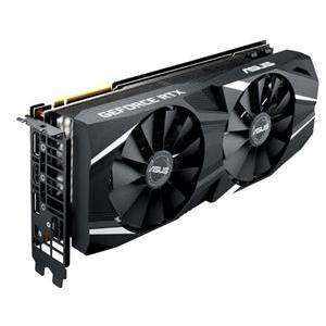 ASUS DUAL-RTX2080-O8G 8GB GDDR6 RTX PCIE Graphics Card