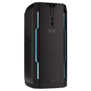 CORSAIR ONE PRO COMPACT GAMING PC - LIQUID COOLED i7-7700K, Z270 MB, LIQUID COOLED GTX1080, 2TB HDD, 480GB M.2 SSD, 16GB DDR4 RAM, 400W PSU, WIN10
