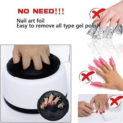 Gel Nail Polish Remover Machine - Just Experience