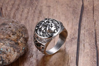 Lion Head | Mens Rings - Just Experience