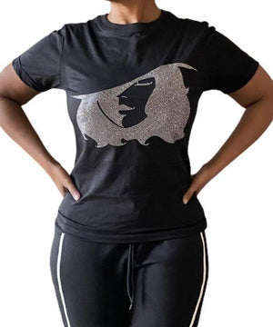 WTL GLAM TEE - WHO'S THAT LADY BOUTIQUE