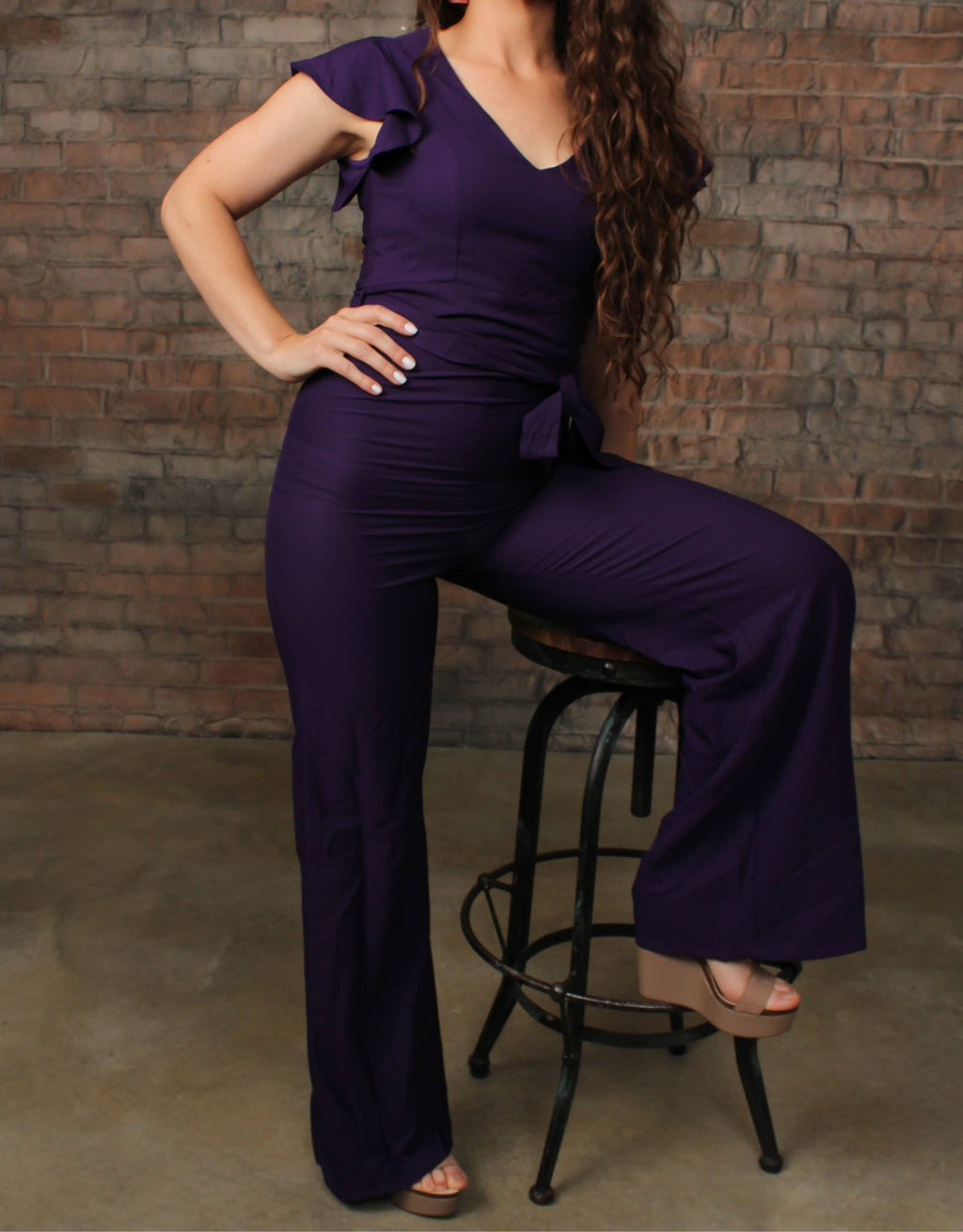 VERETTA JUMPSUIT - WHO'S THAT LADY BOUTIQUE