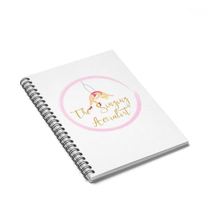 The Singing Aerialist Spiral Notebook - Ruled Line