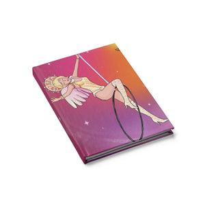 Whimsical aerialist acrobat in Lyra Journal - Blank