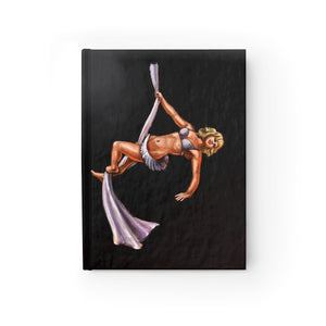 Pinup burlesque Aerialist aerial silks Journal - Ruled Line