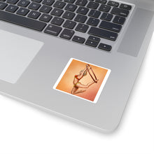 Load image into Gallery viewer, pinup burlesque aerialist square sticker