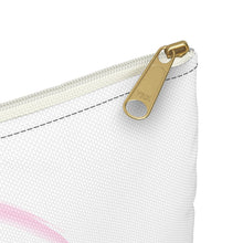 Load image into Gallery viewer, The Singing Aerialist Logo Accessory Pouch Makeup bag