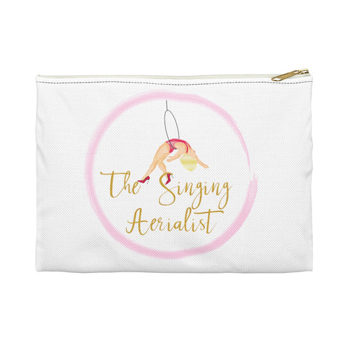 The Singing Aerialist Logo Accessory Pouch Makeup bag