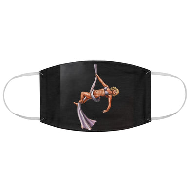 Aerial Silks pinup Fabric Face Mask