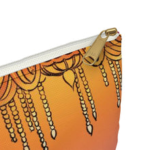 Load image into Gallery viewer, Whimsical singing aerialist hoop art Accessory Pouch