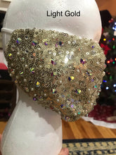 Load image into Gallery viewer, Adorned Bling Sparkle Mask