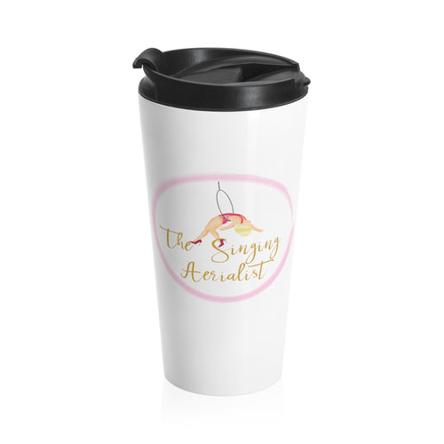 The Singing Aerialist Stainless Steel Travel Mug