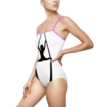 Load image into Gallery viewer, Aerialist aerial Silks acrobat Spaghetti Strap Swimsuit Leotard