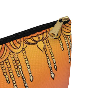 Whimsical singing aerialist hoop art Accessory Pouch