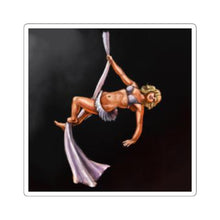 Load image into Gallery viewer, pinup burlesque silks sticker