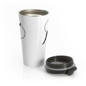 Aerialist aerial hoop acrobat in Lyra Stainless Steel Travel Mug