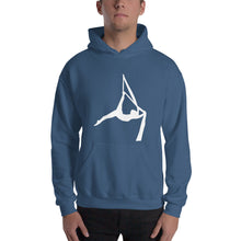 Load image into Gallery viewer, Aerialist aerial silks acrobat Hooded Sweatshirt