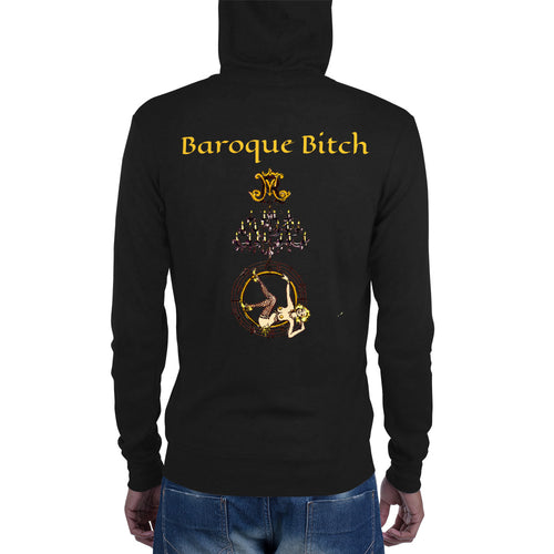 Baroque Bitch Unisex Lightweight Zip Hoodie