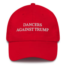 Load image into Gallery viewer, Dancers Against Trump Cotton Cap