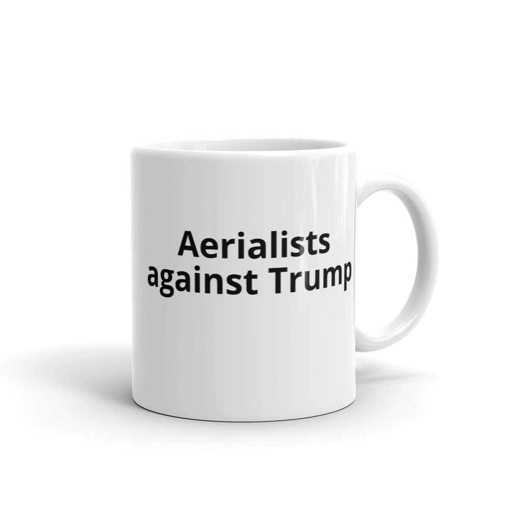 Aerialists against Trump Mug