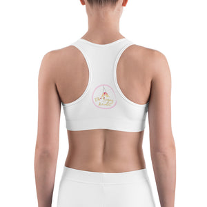 The singing aerialist Sports bra