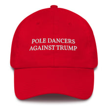Load image into Gallery viewer, Pole Dancers Against Trump Cotton Cap