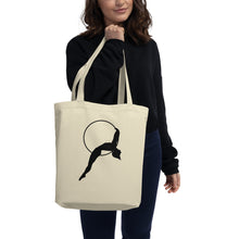Load image into Gallery viewer, Aerial Hoop Lyra Silhouette Tote Bag