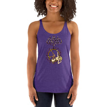 Load image into Gallery viewer, Chandelier Hoop Girl Women's Racerback Tank