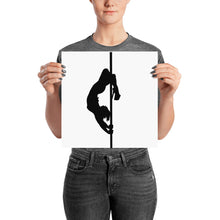 Load image into Gallery viewer, Pole dancer silhouette print