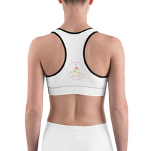 Load image into Gallery viewer, The singing aerialist Sports bra