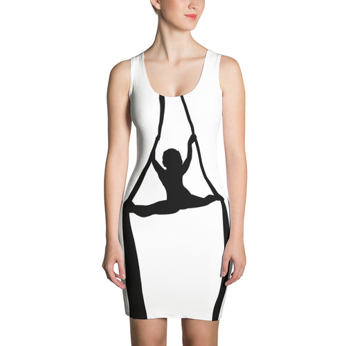 Who's that flexy aerialist girl bodycon dress (aerial silks)
