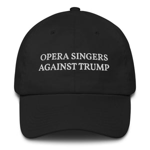 Opera Singers Against Trump Cotton Cap